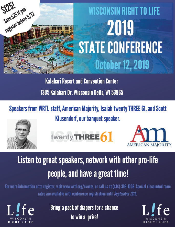 2019 State Conference & College Training Weekend – Wisconsin
